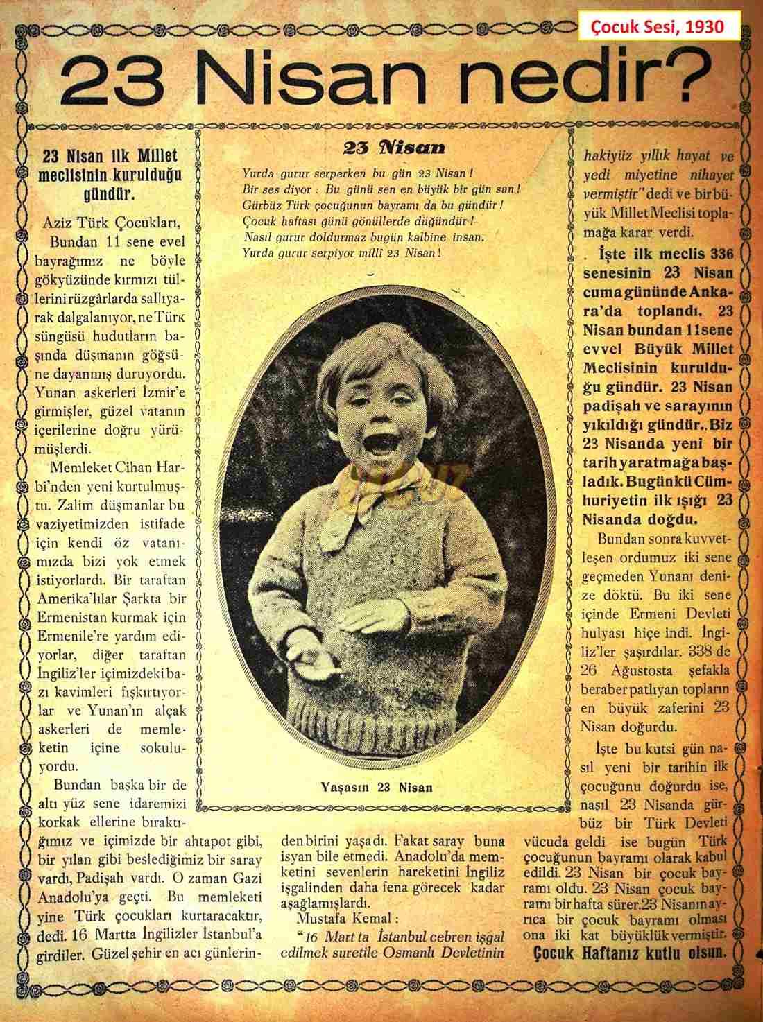 1930 çocuk sesi 2