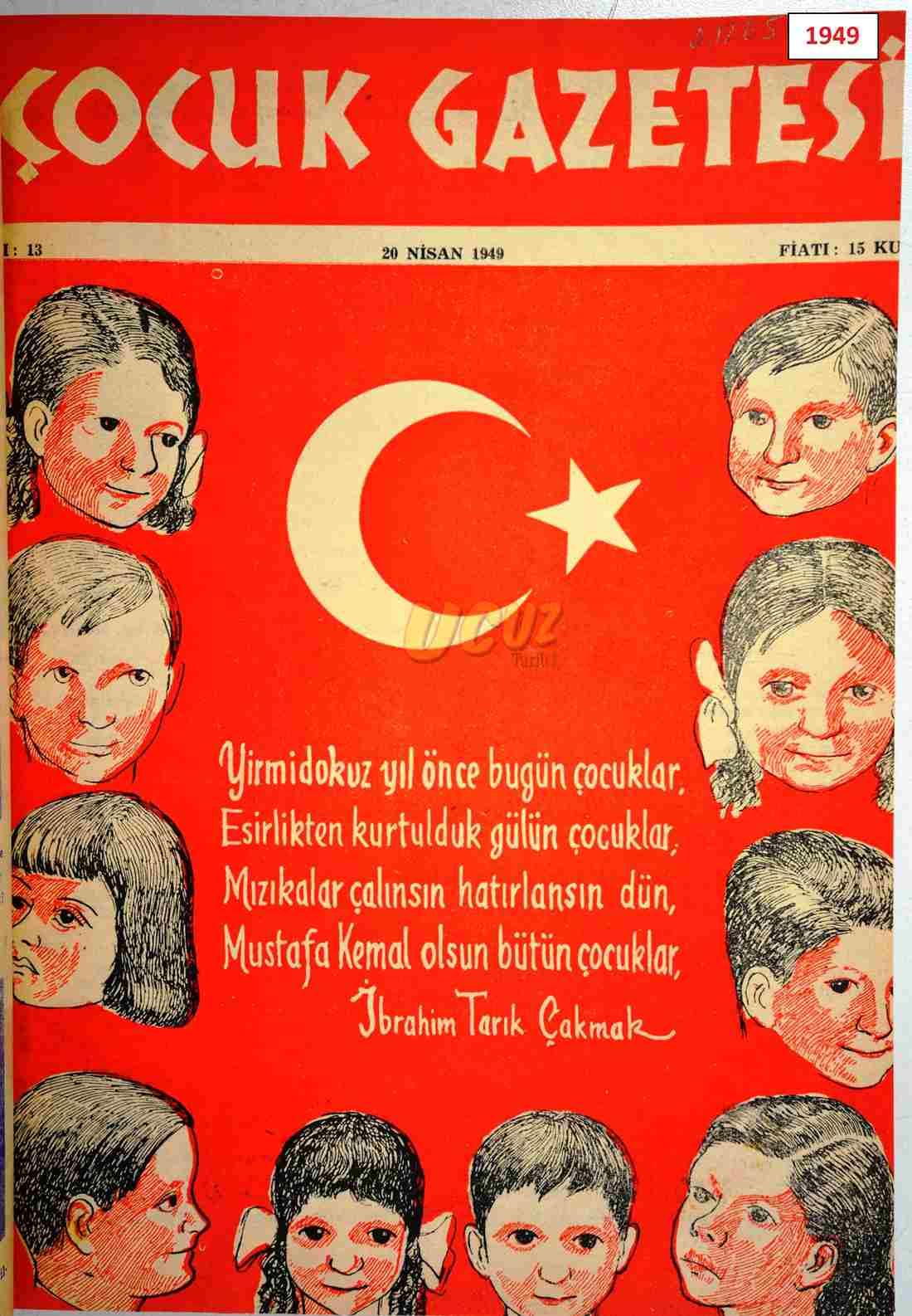 1949 çocuk gazetesi 1