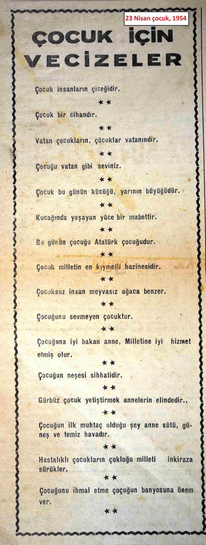 1954 23 nisan çocuk 2