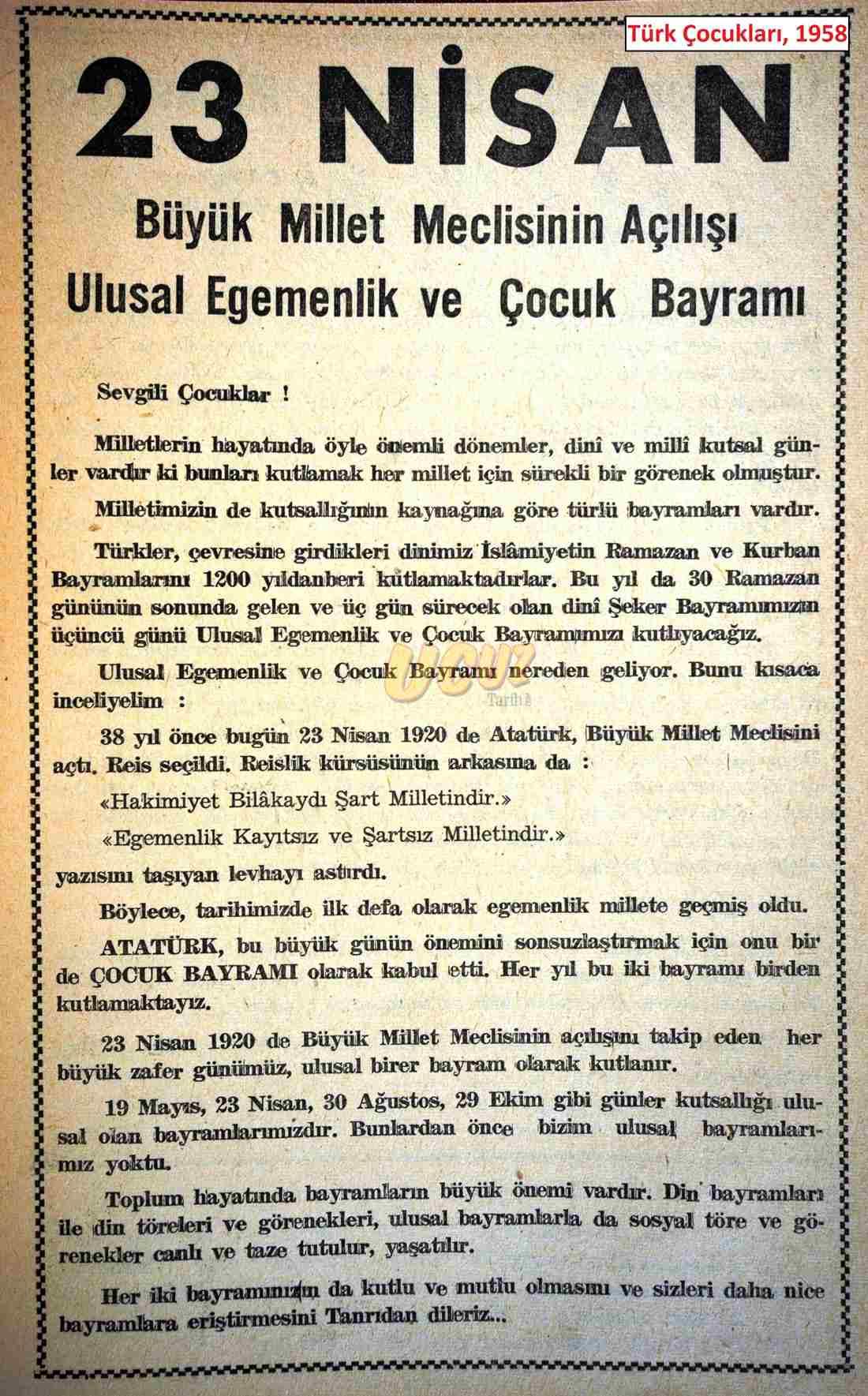 1958 türk çocukları 2