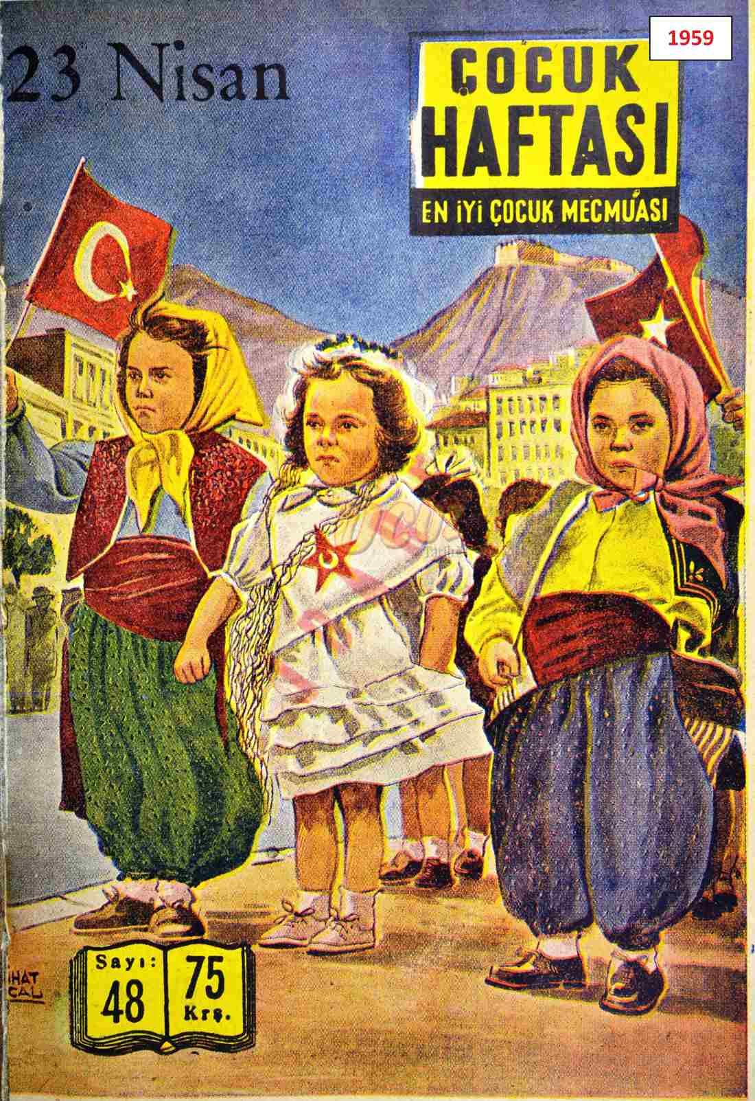 1959 çocuk haftası 1