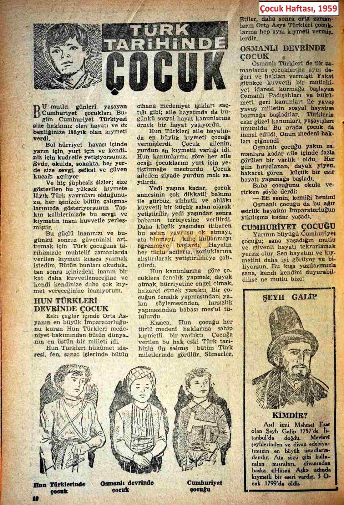 1959 çocuk haftası 3