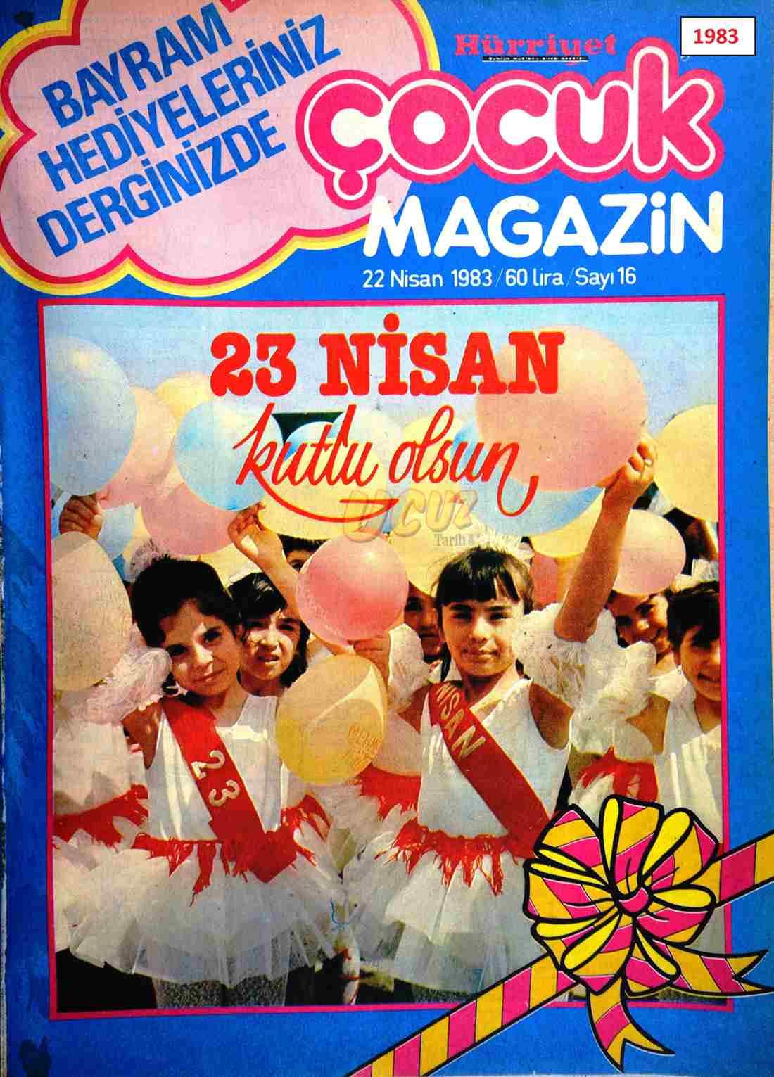 1983 Hürriyet çocuk 1983 1
